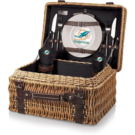 Miami Dolphins Picnic Basket by Picnic Time