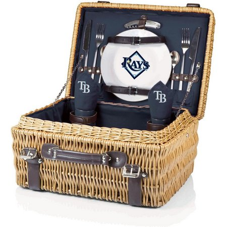 Tampa Bay Rays Picnic Basket by Picnic Time