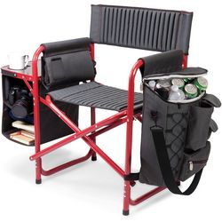 Picnic Time Grey Fusion Chair