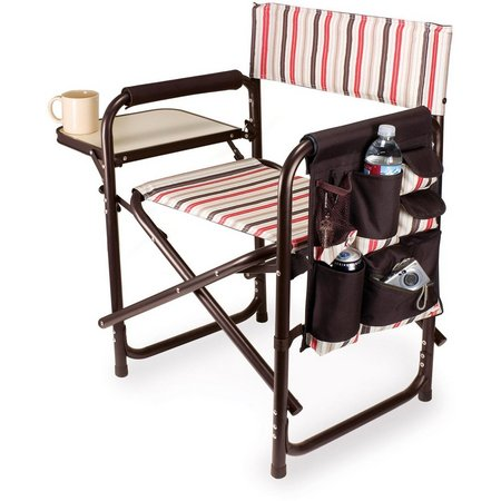 Picnic Time Moka Collection Sports Chair