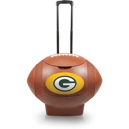 Green Bay Packers Rolling Football Cooler