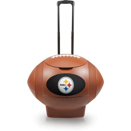 Pittsburgh Steelers Rolling Football Cooler