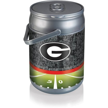 Georgia Bulldogs Stadium Can Cooler by Picnic Time