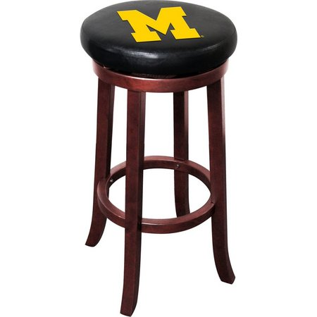 Michigan Wooden Bar Stool by Imperial