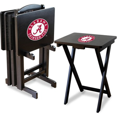 Alabama TV Trays with Stand by Imperial