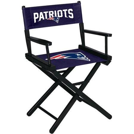 New England Patriots Table Height Directors Chair