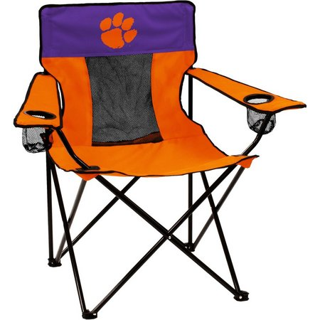 Clemson Tigers Elite Chair by Logo Brands
