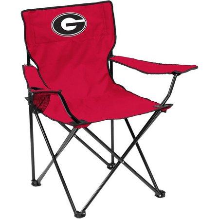 Georgia Bulldogs Quad Chair by Logo Brands