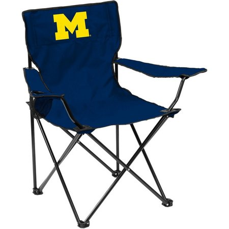 Michigan Wolverines Quad Chair by Logo Brands