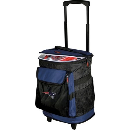 New England Patriots Rolling Cooler by Logo Brands