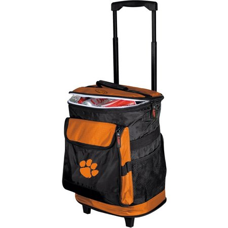 Clemson Tigers Rolling Cooler by Logo Brands