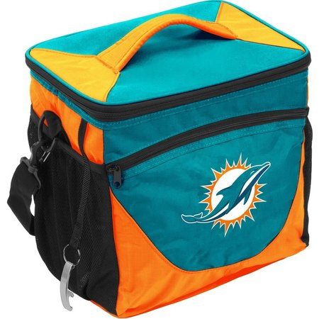 Miami Dolphins 24 Can Cooler by Logo Brands