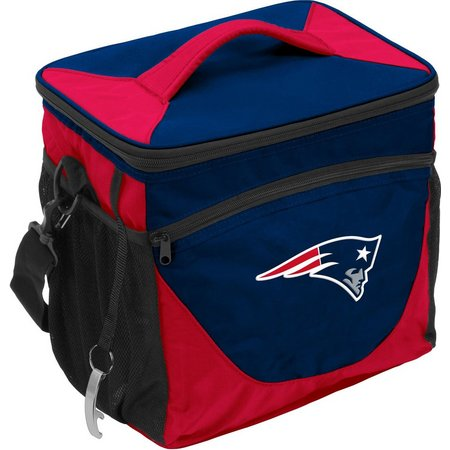 New England Patriots 24 Can Cooler by Logo