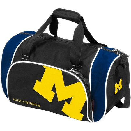Michigan Wolverines Locker Duffel by Logo Brands