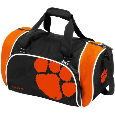 Clemson Tigers Locker Duffel by Logo Brands