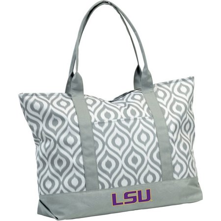 LSU Tigers Ikat Tote by Logo Brands