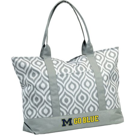 Michigan Wolverines Ikat Tote by Logo Brands