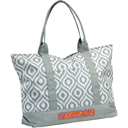 Clemson Tigers Ikate Tote by Logo Brands