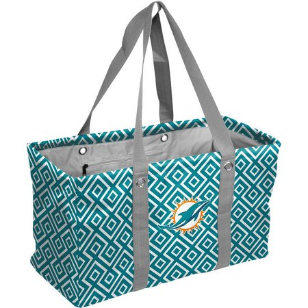 Miami Dolphins Picnic Caddy Tote by Logo Brands
