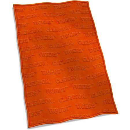 Clemson Velvet Plush Blanket by Logo Brands