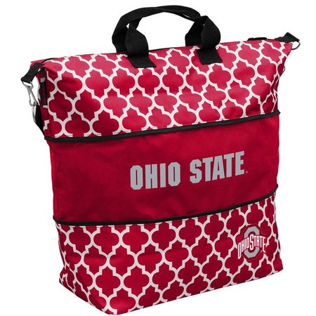 Ohio State Quatrefoil Tote by Logo Brands