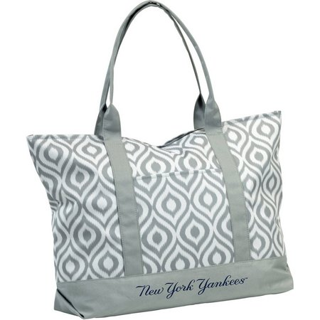 New York Yankees Ikat Tote by Logo Brands