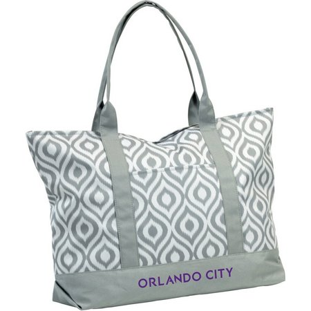 Orlando City Ikat Tote by Logo Brands