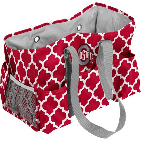 Ohio State Quatrefoil Jr. Caddy by Logo Brands