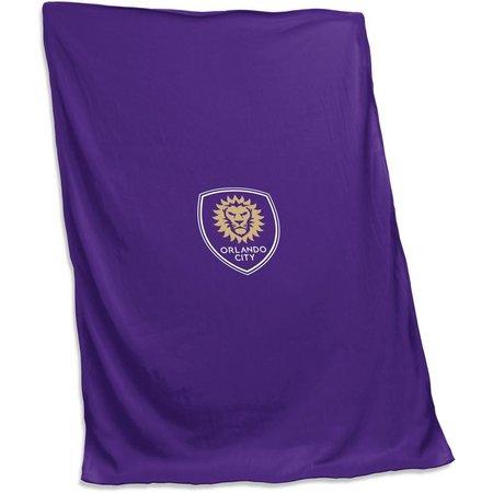 Orlando City Sweatshirt Blanket by Logo Brands