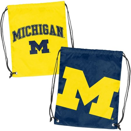 Michigan Doubleheader Backsack by Logo Brands