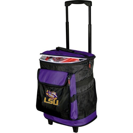 LSU Tigers Rolling Cooler by Logo Brands