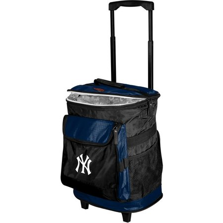 New York Yankees Rolling Cooler by Logo Brands