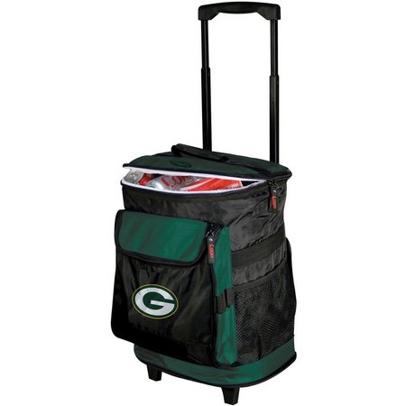 Green Bay Packers Rolling Cooler by Logo Brands