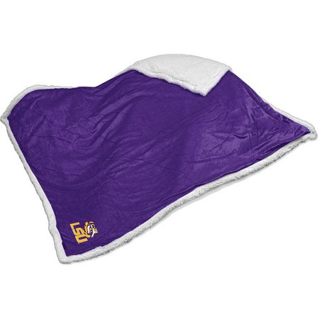 LSU Tigers Sherpa Throw by Logo Brands