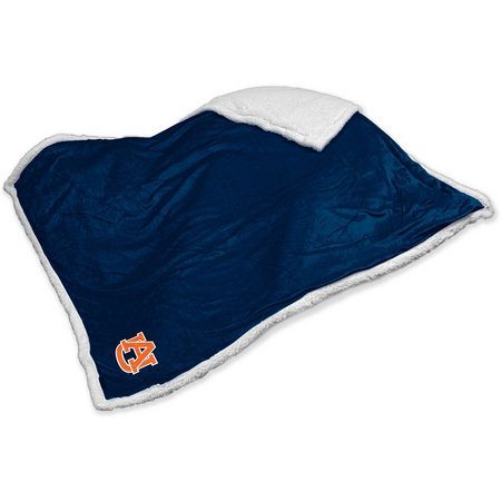 Auburn Sherpa Throw by Logo Brands