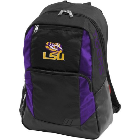 LSU Tigers Closer Backpack by Logo Brands