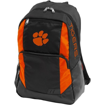 Clemson Tigers Closer Backpack by Logo Brands