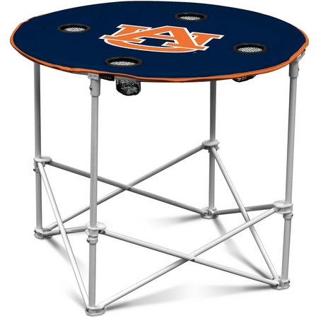 Auburn Portable Round Table by Logo Brands