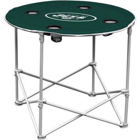 New York Jets Portable Round Table by Logo