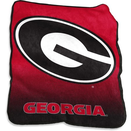 Georgia Raschel Plush Throw by Logo Brands