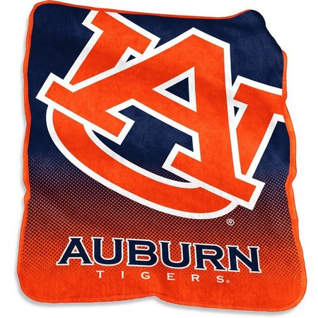 Auburn Raschel Plush Throw by Logo Brands