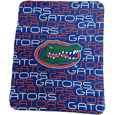 Florida Gators Logo Fleece Throw by Logo Brands