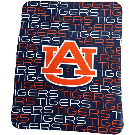 Auburn Sublimated Logo Fleece Throw by Logo Brands