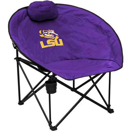 LSU Tigers Squad Chair by Logo Brands