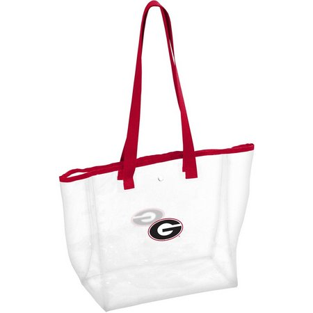Georgia Bulldogs Stadium Clear Tote by Logo Brands