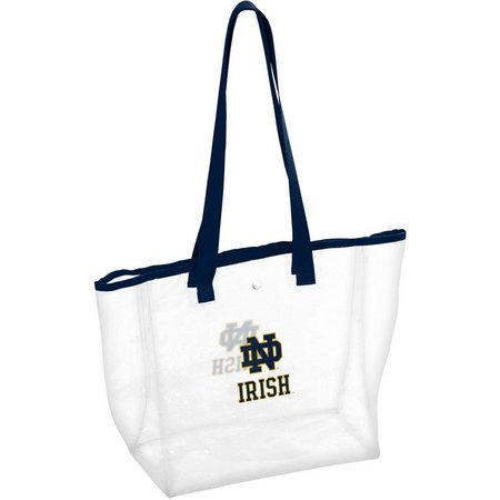 Notre Dame Stadium Clear Tote by Logo Brands