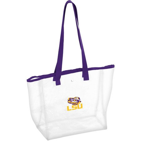LSU Tigers Stadium Clear Tote by Logo Brands