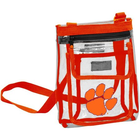 Clemson Gameday Clear Crossbody by Logo Brands