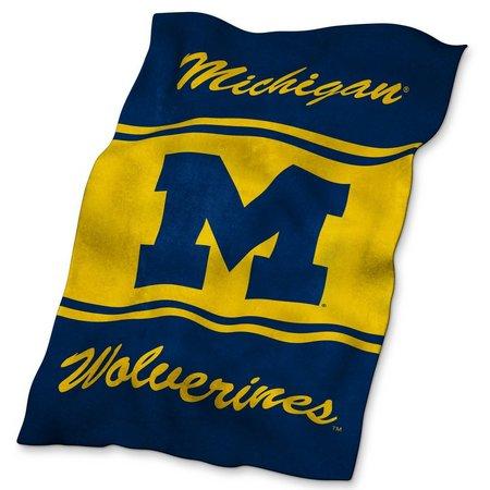 Michigan UltraSoft Blanket by Logo Brands