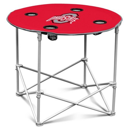 Ohio State Portable Round Table by Logo Brands